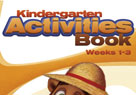 Kindergarten Activities Book